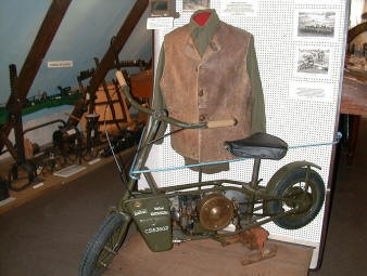 A display in the museum