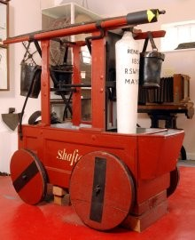 Fire machine in the museum